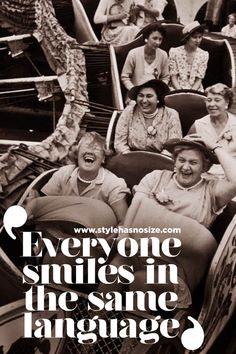 everyone smiles in the same language, quote
