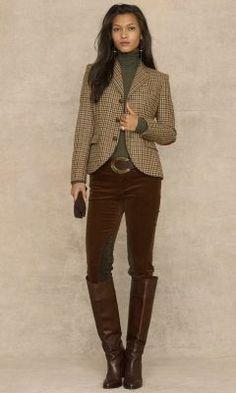 #Английский стиль в одежде для женщин#