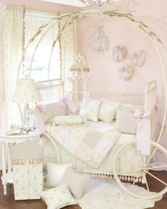 Glenna Jean Story Time Four Piece Crib Bedding Set - at Discount Home Bedding for Kids & Adults Crib Bedding Sets, Nursery Bedding, Nursery Room, Girl Nursery, Baby Bedding, Bedding Decor, Chic Nursery, Cinderella Bed, Cinderella Carriage