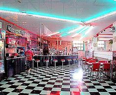1950's diners   Webb's Blog: Research 1950's - 1960's Diners