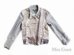 #MissGrant BIKER PAILETTES - Modello sportivo ma in chiave elegante per rendere davvero trandy anche un look quotidiano - #OUTLET