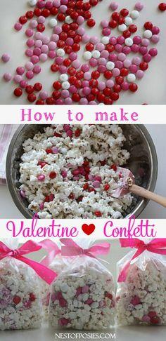 How to make Valentine Confetti