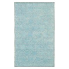 Stylishly anchor your living room or master suite with this hand-tufted wool rug, featuring a Moroccan-inspired motif.   Product: Ru...