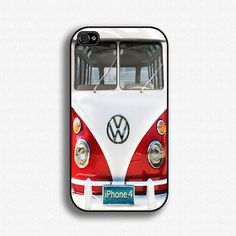 Vw Bus Beetle Bug - Iphone 4 Case, Iphone 4s Case And Iphone 5 Case