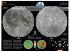 2014 Moon - National Geographic Atlas of the World, 10th Edition Juliste