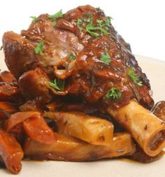 Braised Lamb Shanks with Fennel and Baby Potatoes | Lamb dishes ...