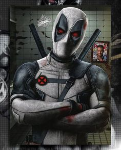 X-Force Deadpool by Spider-maguire on DeviantArt Deadpool Wallpaper, Avengers Wallpaper, Marvel Vs, Marvel Dc Comics, Marvel Heroes, Comic Book Characters, Marvel Characters, Comic Character, Deadpool Character