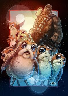 Chewy and Porgs