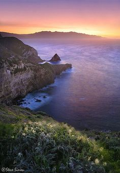 Channel Islands National Park, California...
