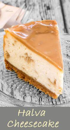 Halva Cheesecake.    Rich and super-delicious cheesecake with Halva,  topped with halva-cream.    http://www.winnish.net/2016/06/8720/