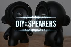 DIY Speakers || I don't see most girls doing this, but this could be awesome to learn how to do. I really love the Old Time Radio one. <3