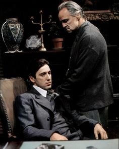 Image result for godfather michael and vito