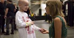 28 de outubro de 2015: Mãe de Taylor Swift realiza sonho de menina com cancro (JN) Com: Taylor Swift