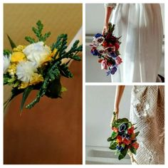 Bridaldollflowers Allmadebyhandbyme Painted
