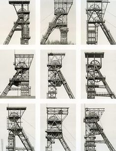 Bernd and Hilla Becher, born in the dedicated their life to creating a visual taxonomy of the world's industrial structures. A Level Photography, History Of Photography, Landscape Photography, Art Photography, Bernd Und Hilla Becher, Fotografia Macro, Industrial Architecture, Quelques Photos, Industrial Photography
