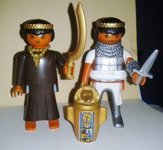 PLAYMOBIL NOVEDAD, PAR DE SARRACENOS EGIPCIOS CON EL TESORO ENCONTRADO