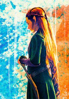 Tauriel <3 This is my favorite shot of her ever!