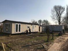 Chalet plaatsing op camping in Burgh Haamstede