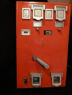 De postzegel automaat