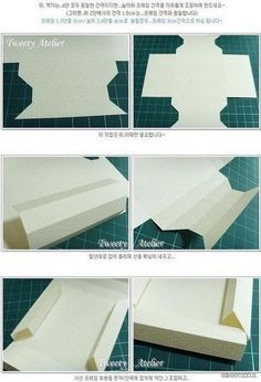 Изготавливаем объемную рамку из бумаги этап 3