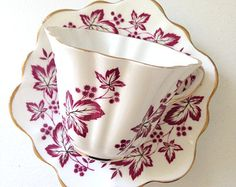 English Rosina Teacup & Saucer Bone China Wedding, Birthday, Thank You or Housewarming Gift Inspiration