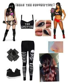 """""""Nikki Bella takes Dj out of the ring for weeks"""" by briruiz ❤ liked on Polyvore featuring Dolce&Gabbana and Supra"""