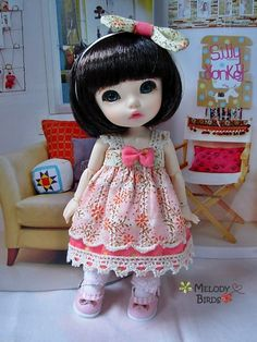 Creepy Cute Doll.  Awww... I think she's just *cute*, but YMMV.