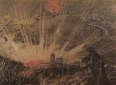 Mikoláš Aleš, Consecrates Me, the Golden Sun 1878 Golden Sun, Fantastic Art, Painting, Czech Republic, Landscapes, Dark, Paisajes, Scenery, Painting Art