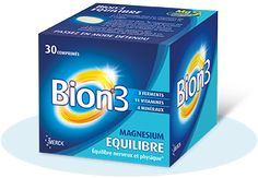 Bion®3 Equilibre Acide Aminé, Magnesium, Tablets, Medical, Personal Care, Products, Queso Blanco, Salads