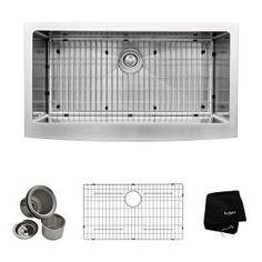 Kraus KHF200-36 Stainless Steel Kitchen Sink