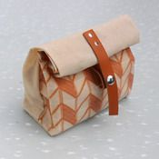 Waxed canvas pencil case (or for lunch?) by Ship Fine Goods
