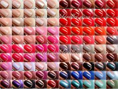 Great reference post! Essie Color guide #1-100! | Nailderella