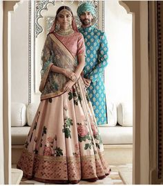 272005570ceff7 PINK RAW SILK LEHENGA If you love the 'pretty in pink' look, then this one  is made for you! The baby pink raw silk lehenga has multi color resham &  dori ...