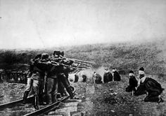 A History of the First World War in 100 Moments: Austro-Hungarian army executes civilians in Serbia Nagasaki, Hiroshima, Wilhelm Ii, Kaiser Wilhelm, World War One, First World, Fukushima, Execution By Firing Squad, Art Noir