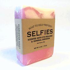 WHISKEY RIVER SOAP CO. Selfies Soap | Bubblegum Scent (SELFIESOAP)