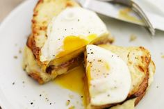 Eight minute 'cheat's' croque madame recipe