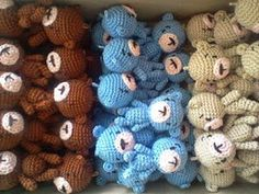 Crochet & Crafts By Maria: My Cute Little Ami Bears