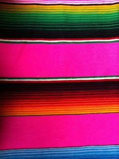 mexico.  blanket. colors. colorful. - serape