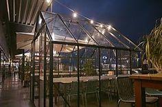 11 Of The Best Dining Experiences In The City Garden Bar, Garden Oasis, Beer Garden, Halsey Street, Dim Lighting, Best Dining, Summer Picnic, Glass House
