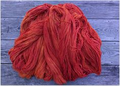 Bittersweet-naturally dyed with madder root