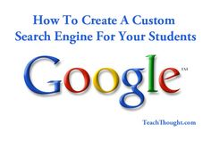 How to create a guided/custom Google search engine for your students - Google gives you the option to customize students' search experience to rope off certain sections of the internet, or to gently emphasize others. By following these simple steps, you can configure a search restricted to the sites you'd like to the students to be able to search from (such as Britannica, the Library of Congress, goorulearning, and learni.st).