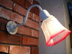 外灯用防雨型42径ウォールランプ アンティークredガラスシェード インテリア 雑貨 家具 Antique lamp shade ¥7400yen 〆05月02日