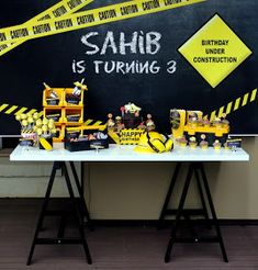 Little Big Company | The Blog: Construction Third Birthday Party by Styled by Belle