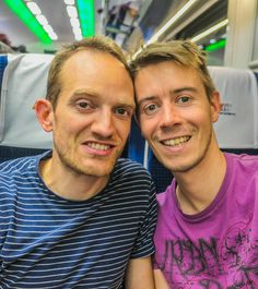 We love travelling by train within our country as well as travelling abroad! #gaycouple #gaytravel #czechgay #gay #lgbt #lgbtq #gaymarriage #gayhusbands #husbands #lgbttravel #lgbtqtravel #gaycouplegoals Gay Couple, Train Travel, Travel Abroad, Travel Couple, Couple Goals, Lgbt, Travelling, Husband, Country