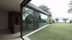 Bergmeisterwolf's Villa Extension Has Walls That Vanish Into the Floor