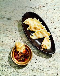 Yachae Mandu (Teigtaschen mit Gemüsefüllung) | Frankfurter Kochbuchrezensentin