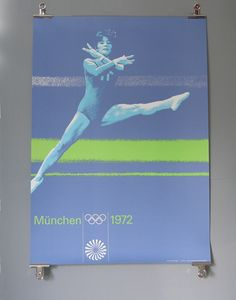 München Olympic Otl Aicher 1972 Munich Olympics A1 BOXING Poster Orig 72