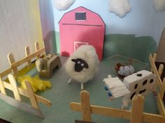Shocks and Shoes: DIY – Farm Diorama