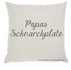 Vatertagsgeschenk, Papa, Geschenk, Männergeschenk, Kissen, Pillow, Cushion http://stoffwechsel-jb.blogspot.de/ #Geschenk