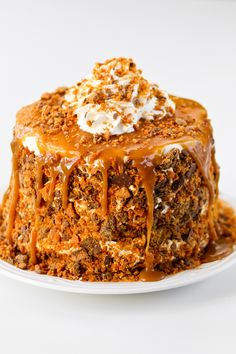 Better Than Sex Layer Cake - Confessions of a Cookbook Queen